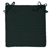 Simply Home Solid - Dark Green Chair Pad (set 4)