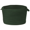 "Colonial Mills Simply Home Solid - Dark Green 18""x12"" Utility Basket"