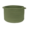 "Simply Home Solid- Moss Green 14""x10"" Utility Basket"