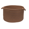 "Colonial Mills Simply Home Solid - Cashew 24""x14"" Utility Basket"