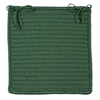 Simply Home Solid - Myrtle Green Chair Pad (single)