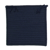Colonial Mills Simply Home Solid - Navy Chair Pad (single)