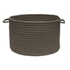 "Colonial Mills Simply Home Solid- Gray 14""x10"" Utility Basket"