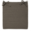 Simply Home Solid - Gray Chair Pad (set 4)