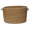 """Simply Home Solid- Café Tostado 14""""x10"""" Utility Basket"""