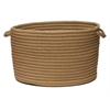 """Simply Home Solid - Café Tostado 18""""x12"""" Utility Basket"""