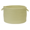 "Simply Home Solid- Celery 14""x10"" Utility Basket"