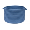 "Colonial Mills Simply Home Solid - Blue Ice 18""x12"" Utility Basket"
