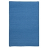Colonial Mills Simply Home Solid - Blue Ice 4'x6'