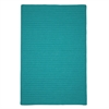 Colonial Mills Simply Home Solid - Teal 6' square
