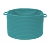 "Simply Home Solid- Teal 14""x10"" Utility Basket"