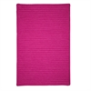 Simply Home Solid - Magenta 4'x6'