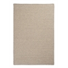 Natural Wool Houndstooth - Cream 6' square