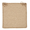 Natural Wool Houndstooth - Tea Chair Pad (single)