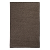 Natural Wool Houndstooth - Cocoa 12' square
