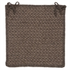 Colonial Mills Natural Wool Houndstooth - Cocoa Chair Pad (set 4)