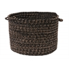 "Colonial Mills Hayward - Black 18""x12"" Utility Basket"