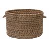 """Colonial Mills Hayward- Mocha 14""""x10"""" Utility Basket"""