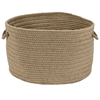 Colonial Mills Sunbrella Solid Wheat 13x13x9 Basket