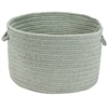 Sunbrella Solid Sea 13x13x9 Basket