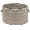 Sunbrella Solid Ash 13x13x9 Basket