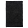 Simple Chenille - Black 7'x9'