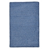 Simple Chenille - Petal Blue 4' square