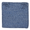 Simple Chenille - Petal Blue Chair Pad (set 4)