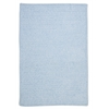 Colonial Mills Simple Chenille - Sky Blue 6' square