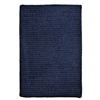 Simple Chenille - Navy 4' square