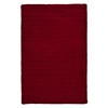 Colonial Mills Simple Chenille - Sangria 6' square