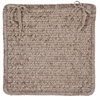 Simple Chenille - Café Tostado Chair Pad (set 4)