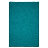 Simple Chenille - Teal 6' square