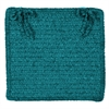 Simple Chenille - Teal Chair Pad (single)