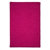 Simple Chenille - Magenta 4' square
