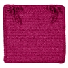 Colonial Mills Simple Chenille - Magenta Chair Pad (set 4)