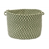 "Montego- Lily Pad Green 14""x10"" Utility Basket"