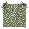 Montego - Lily Pad Green Chair Pad (single)