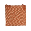Montego - Tangerine Chair Pad (set 4)