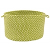 "Montego - Lime Twist 18""x12"" Utility Basket"