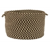 "Colonial Mills Montego - Bright Brown 18""x12"" Utility Basket"
