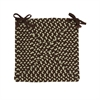 Montego - Bright Brown Chair Pad (single)