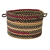 "Colonial Mills Market Mix - Winter 18""x12"" Utility Basket"