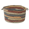 "Colonial Mills Market Mix- Summer 14""x10"" Utility Basket"