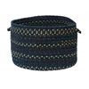 "Colonial Mills Midnight - Indigo 18""x12"" Utility Basket"