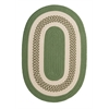 Colonial Mills Crescent - Moss Green 2'x3'