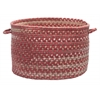 "Oak Harbour- Rhubarb 14""x10"" Utility Basket"