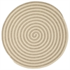 Colonial Mills Woodland Round - Natural 7' round