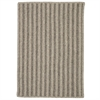 Colonial Mills Woodland Vertical Stripe - Dark Gray 5'x7'