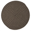 Colonial Mills Woodland Round - Brown 5' round